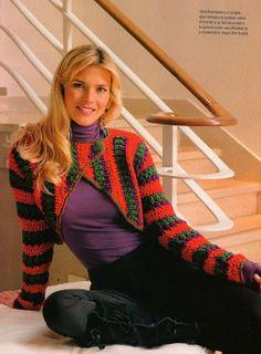 599 Besten Bolero Bilder Auf Pinterest Crochet Batwing Tops