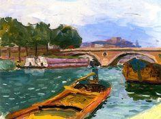 Paris, Bridge over the Seine  / Albert Marquet - circa 1905-1906