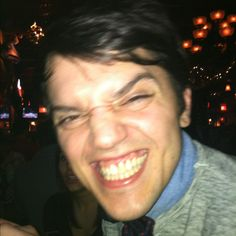 Love. Even when he's making weird faces.