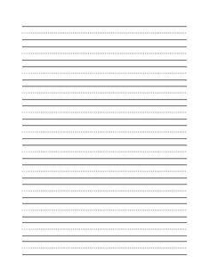 Blank Printable Cursive Alphabet Worksheets