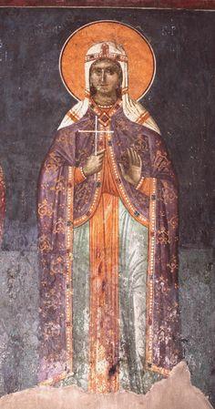 Fresco, Chi Rho, Medieval Costume, Viking Age, Orthodox Icons, Christian Art, 15th Century, Byzantine, Little Sisters