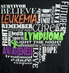 Lymphoma and Leukemia Awareness Fundraising by CancerRibbonCity, $10.00