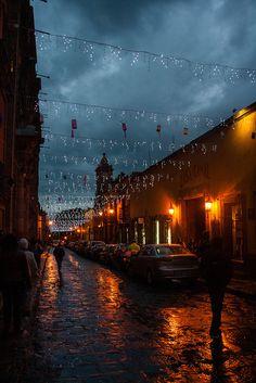 Rainy night, San Miguel de Allende | Flickr - Photo Sharing!