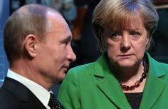 Poutine Ukraine Merkel