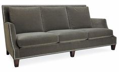 gray loveseat | Vintage Scout: Theres A New Sofa In Town...