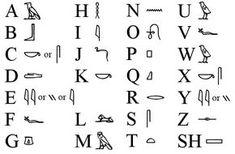 Hieroglyphen | Ägypten /Pharaonen/Tempel und Pyramiden
