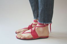 unique sandals_ maybe in a different color?
