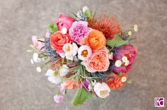 Now this is a beautiful bouquet!