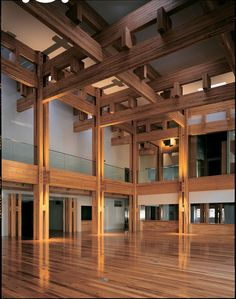 Interiors > Modern City Hall Interior The Yusuhara Town Hall Interior Design Japanese Wooden Structures. 17 times like by user Columns for Town Hall Minecraft Town Hall Interior Great Hall Interior, author Lily Gill. Architecture Design, Timber Architecture, Asian Architecture, Modern Japanese Architecture, Japanese Home Design, Japanese House, Japanese Joinery, Japanese Interior, Japanese Architecture