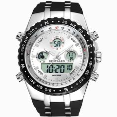 Good price 2017 New Brand Watch Men Military Sports Watches Fashion Silicone Waterproof LED Digital Watch For Men Clock digital-watch just only $14.99 with free shipping worldwide  #menwatches Plese click on picture to see our special price for you