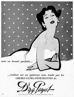 Illustration Vintage - Payot - Gruau - 1954