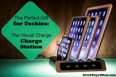 The Perfect Gift for Techies – The Visual Charge Charge Station http://giveaways4mom.com/2016/11/perfect-gift-techies-visual-charge-charge-station/