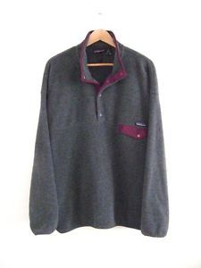 For Kyle, he wants an old school patagonia fleece pullover XXL