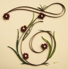 Quilling art by Suzana IIic