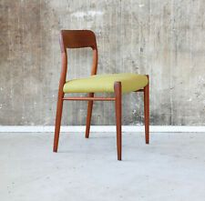 60er N O Moller Teak Esszimmerstuhl Danish Mid Century 60s Dining Chair Teak Esstisch Teak Und Esszimmerstuhle