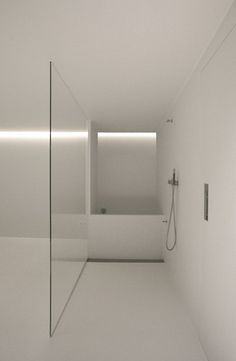 {Another minimal and modern space… rendered in white! Private House 06 by i29 Architects.}