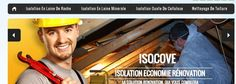 www.isocove.fr Creations, Design, Web Design, Cleaning