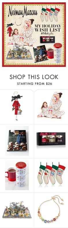 """The Holiday Wish List With Neiman Marcus: Contest Entry"" by rmhodgdon ❤ liked on Polyvore featuring Neiman Marcus, Soffieria de Carlini, Bed Head by TIGI, Smith & Cult, Saxon Chocolates, Jonathan Adler, Christian Lacroix and Eddie Borgo"