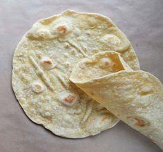 """Domáce """"tortilla"""" placky"""