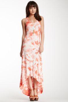 Tie Dye Hi-Lo Dress by Olive & Oak on @HauteLook