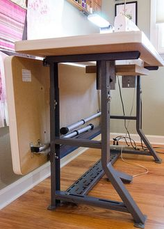 I will get this sewing table! Sew Perfect Tables: http://www.sewperfecttables.com/sewing-tables.shtml