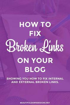 A broken link happen