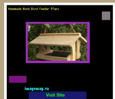 Homemade Wood Bird Feeder Plans 202023 - The Best Image Search