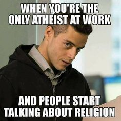 This happened to me a few times... I don't like talking about it because I don't want to offend anyone, so that's why I hated that job. Never said anything about religion myself.