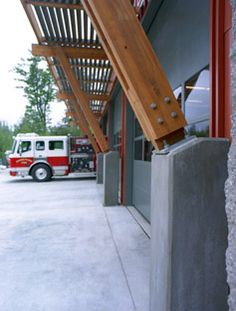 | TCA Architecture & Planning | City of Snoqualmie, Headquarters Fire Station | Earth Tubes, Sun Shading & Daylighting, Ecological Health, Sustainable