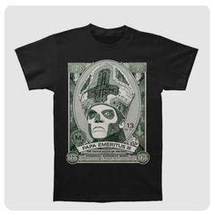 Papa Cash Tee (Oct 2016) Ghost Official, Oct 2016, Tees, Mens Tops, T Shirt, Supreme T Shirt, T Shirts, Tee Shirt, Tee