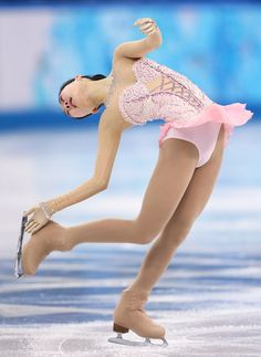 Zijun Li Photos - Zijun Li of China competes in the Figure Skating Ladies' Free Skating on day 13 of the Sochi 2014 Winter Olympics at Iceberg Skating Palace on February 2014 in Sochi, Russia. Ice Dance Dresses, Ice Skating Dresses, Figure Skating Outfits, Figure Skating Costumes, Ballet Leotards For Girls, Kids Leotards, Dance Leotards, Gymnastics Leotards, Synchronized Skating