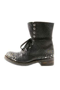 Stud Laced Boots