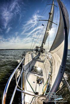 Yacht Sailing Boat Ocean Summer Spring Bikini