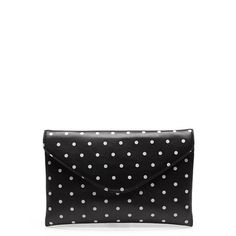 J. Crew Invitation clutch in dot