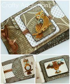 Mini envelope book