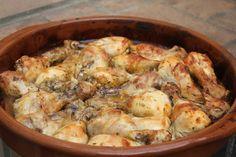 Pollo al limón con patatas al horno - Conexión Cubana