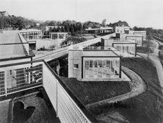 Open Air School, Suresnes, France, Eugène Beaudouin/Marcel Lods, 1932-35