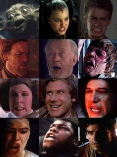 The Many Faces Of Star Wars
