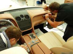 Разработка модели Bentley Bentayga интерьер