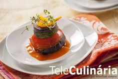 Napoleão de Legumes Assados - TeleCulinária Nº1781
