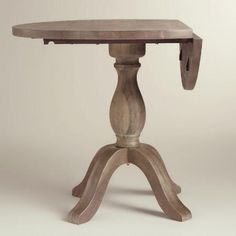 Weathered Gray Jozy Drop Leaf Dining Table | World Market