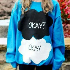 The Fault in Our Stars sweatshirt @Madisen Ransford
