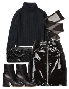 """Untitled #5236"" by theeuropeancloset on Polyvore featuring rag & bone and Maison Margiela"