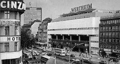 um 1975 West-Berlin -  Warenhaus Wertheim am Kurfuerstendamm