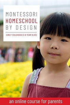 Learn how to do Montessori homeschool for preschool