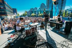 We Are The City performs at Uptown Live New Westminster BC Festival Information, Western Canada, Ford News, New View, Key West, Vancouver, Times Square, Westminster, Street View