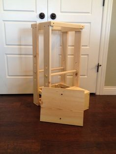 Christmas is fast approaching! Get your order in early. Your childs safety is worth every penny spent on this Tot Tower. Our Childs Kitchen Helper Step Stool stands 32 tall, 15 1/2 inches wide and the base is 17 1/2  deep. This is perfect for your toddler as they shadow you in their curiosity to learn - in the kitchen, at the bathroom sink, dads workbench or anywhere to get your child to counter height safely. It weighs in at only 14 pounds and is easy for your toddler to move. There are…
