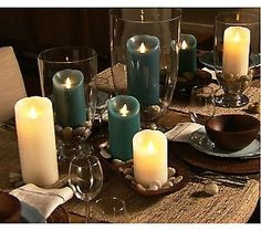 Awesome flameless candles......look real!!