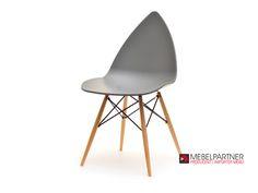 Oryginalne krzesło do kuchni BEEN szare. - Mebel-Partner.pl