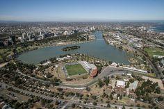 This is the official Site of Alfa Romeo Racing. Albert Park Melbourne, Melbourne Australia, Australian Grand Prix, Formula One, City Photo, Weekend Weather, Race Tracks, Racing, Australia